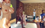 Experience an orgy party with hotties
