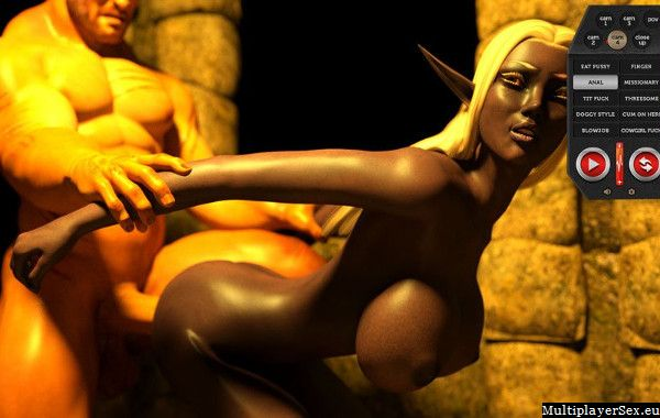 Really hot sex with hot elf